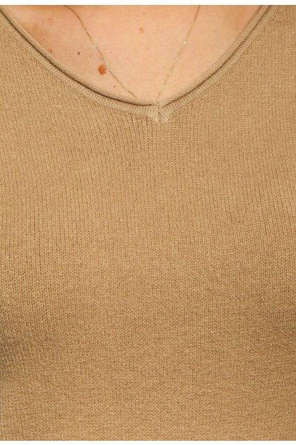 HNEDý dámsky sveter