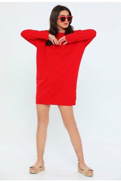 Červená dámska tunika