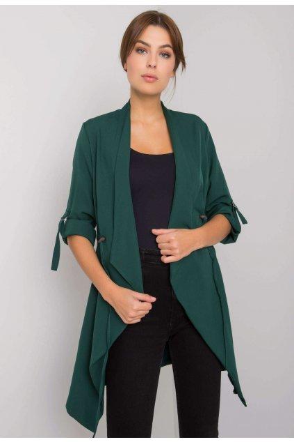 Zelený dámsky cardigan