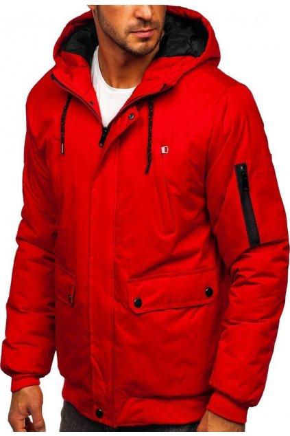 Červená pánska bunda