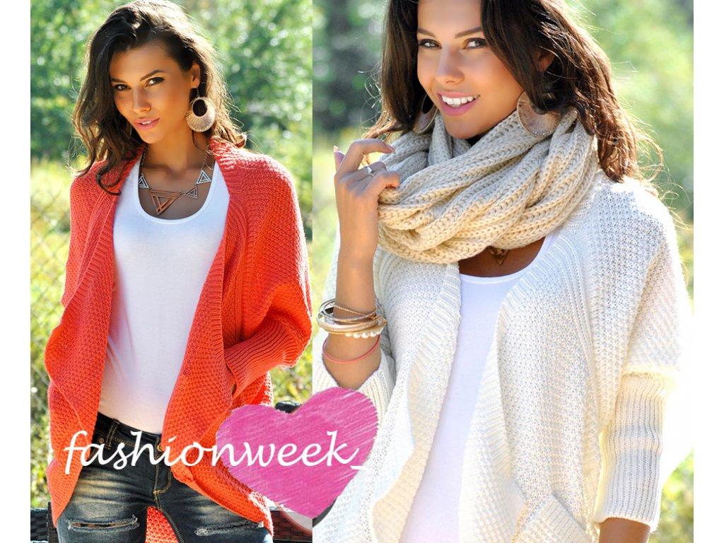 Příjemné a velice elegantní svetry s kapsami Olimpia - fashionweek ... ef6e182aaf
