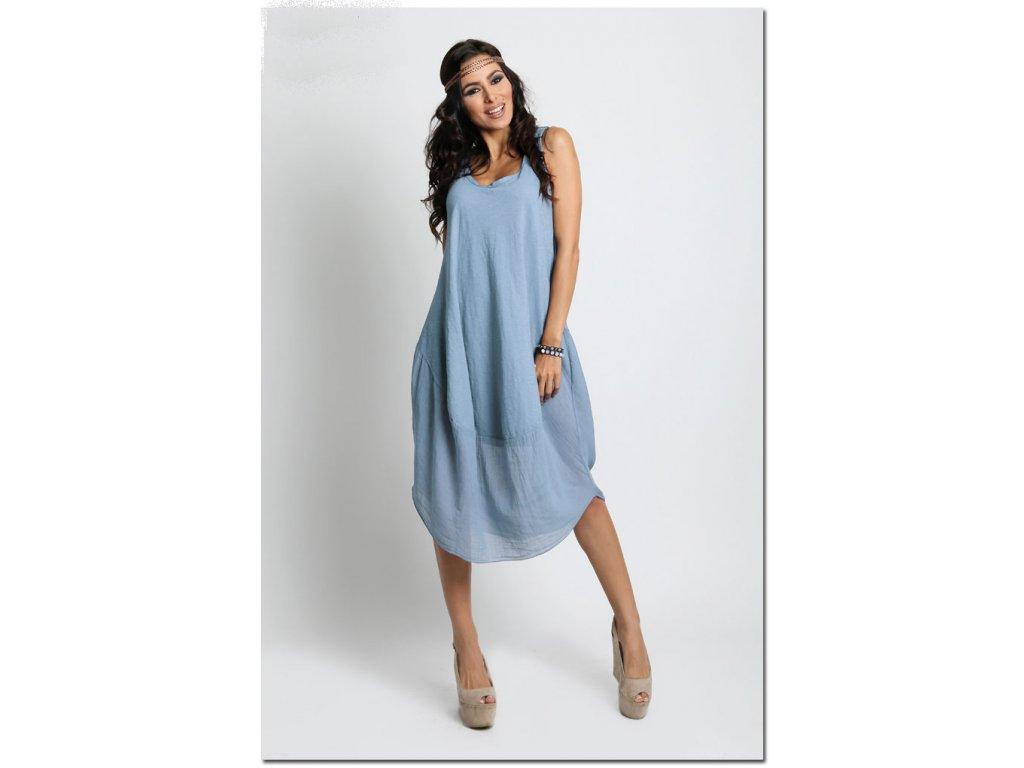 Nádherné módní letní bavlněné šaty BOHO ITALY A607 - fashionweek-moda.cz 796fba029b