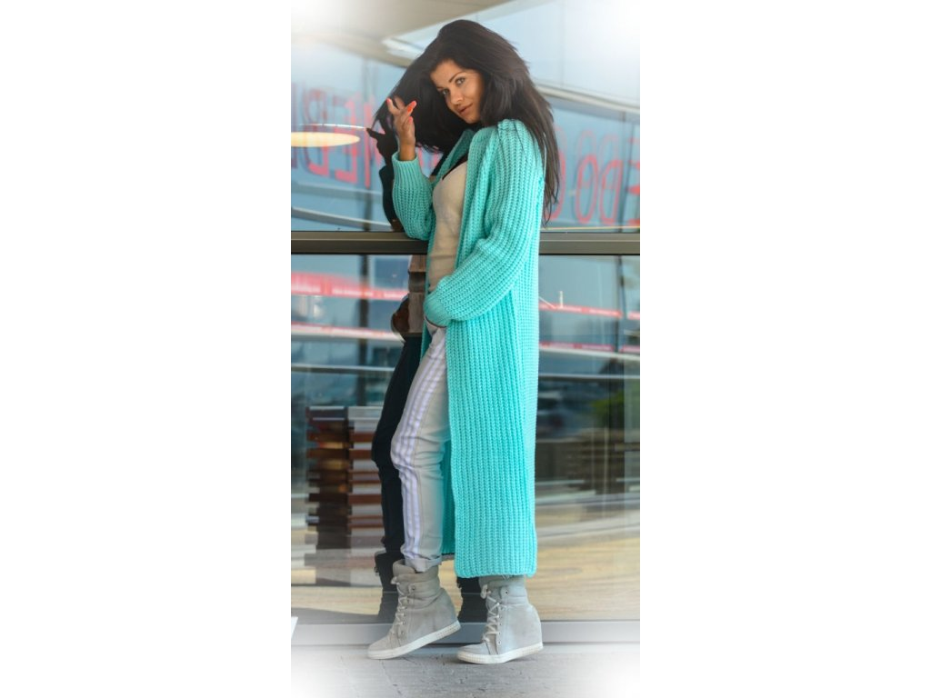 BESTSELLER!!!!! Luxusní neobvyklé pletené dlouhé svetry kabáty MAXI ... ba5d109267