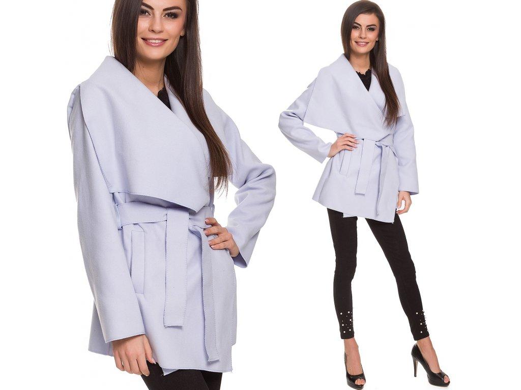 71f93c46d20 Úžasný flaušový kabátek WATERFALL TC301 - fashionweek-moda.cz