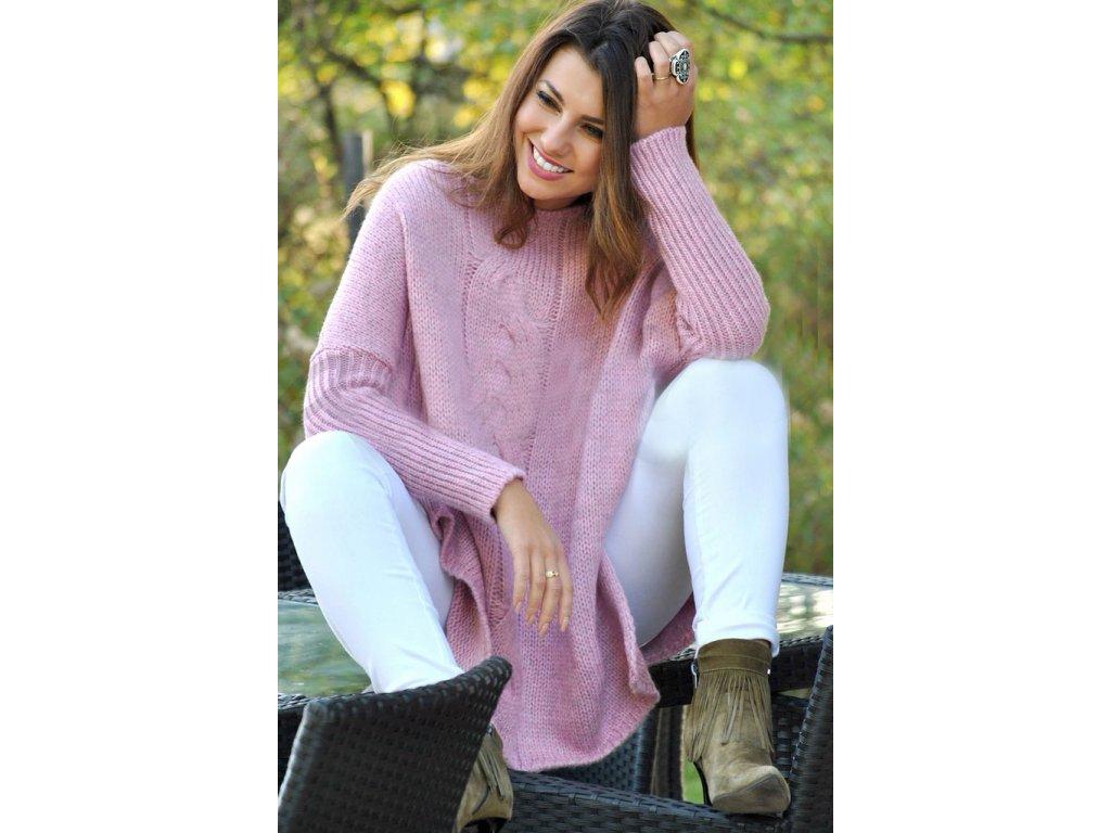Oversize svetr tlustý 0c0f3cdd3a