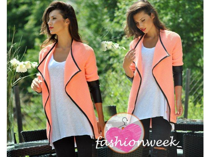 Luxusní blazer cardigan Elegance W1
