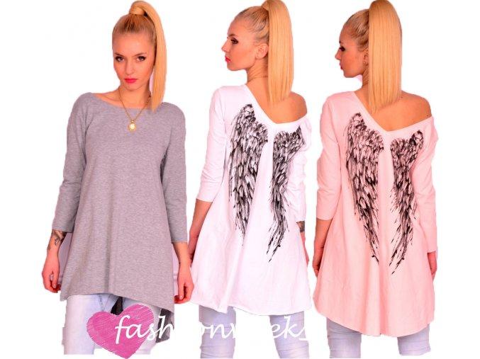 Sexy módní tunika andělská křídla Angel