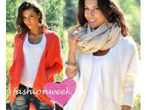 Příjemné a velice elegantní svetry s kapsami Olimpia