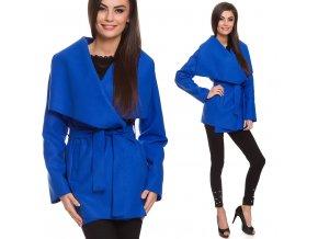 Úžasný flaušový kabátek WATERFALL TC301
