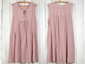Nádherné módní letní bavlněné šaty BOHO ITALY MD623