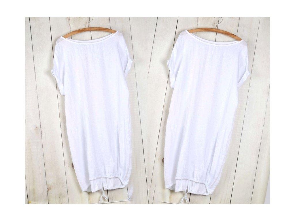 ff6aea1f84db ... Nádherné módne letné ľanové-bavlnené šaty BOHO ITALY OVERSIZE MD9   785  ...