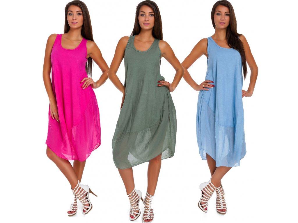 e83f38f3b6b Nádherné módne letné bavlnené šaty BOHO ITALY TC665 - fashionweek ...