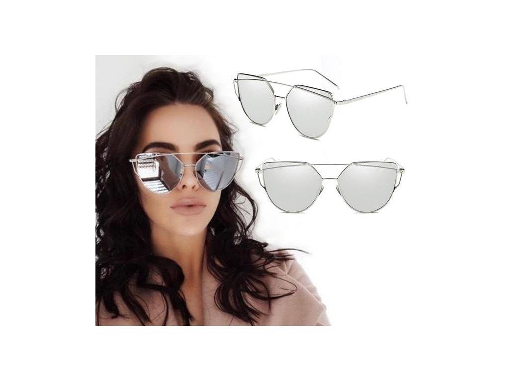 Luxusné Slnečné Okuliare Zrkadlové Glam Rock mix SB8 - fashionweek ... e7267846c5d