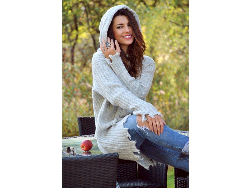 5b643f8321a0 Dámsky zimný pletený sveter