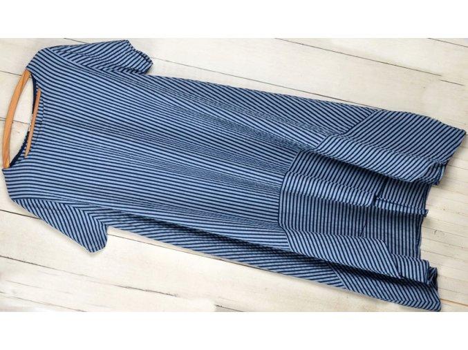 Nádherné módne letné šaty BOHO ITALY oversized L / XL MD804