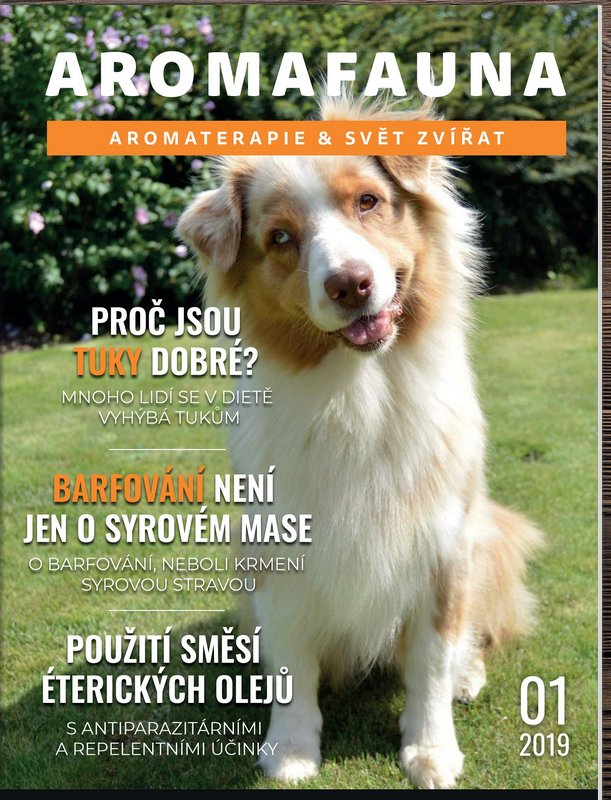 Časopis Aromafauna - aromaterapie & svět zvířat