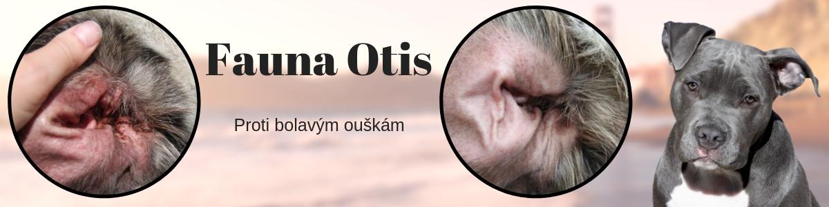 FAUNA OTIS na bolavé ucho, působí proti zánětu, prevence vodní plemena (pes, kočka, kůň, králík, morče)