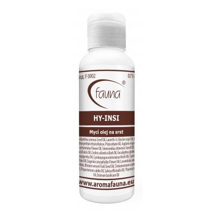 HY-INSI mycí olej s antiparazitním účinkem, hydratuje srst