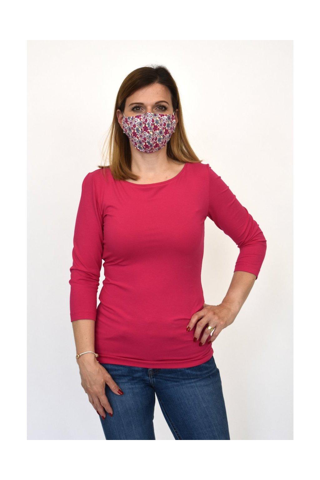 dámska móda ružové tričko favab
