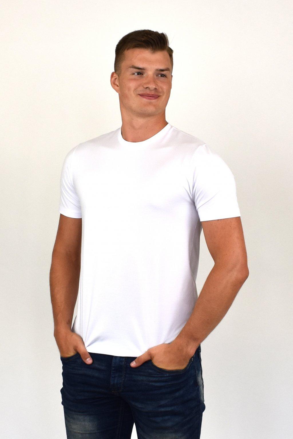 pánske obtiahnuté tričko