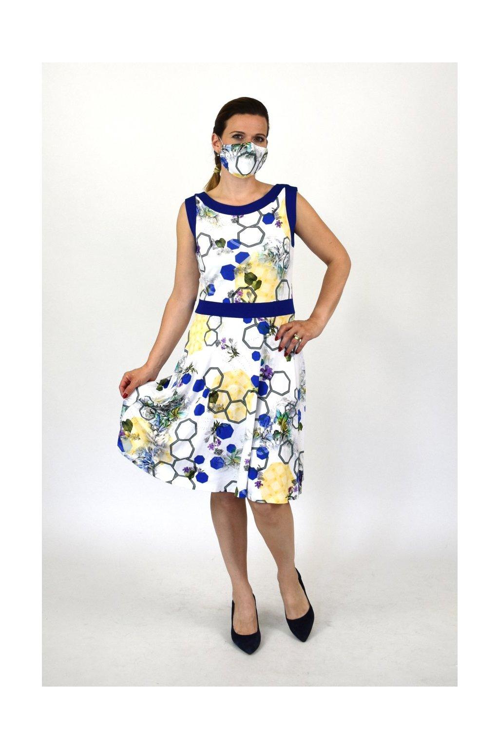 farebné letné šaty