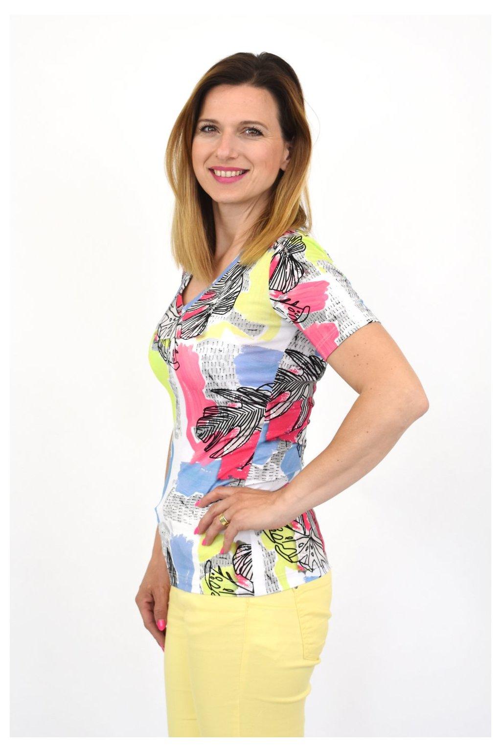 farebné štýlové tričko favab