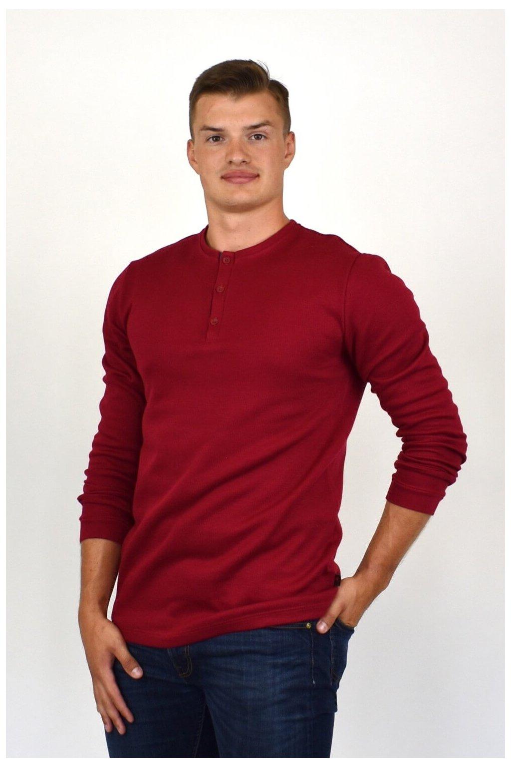 pánske tričko bordové