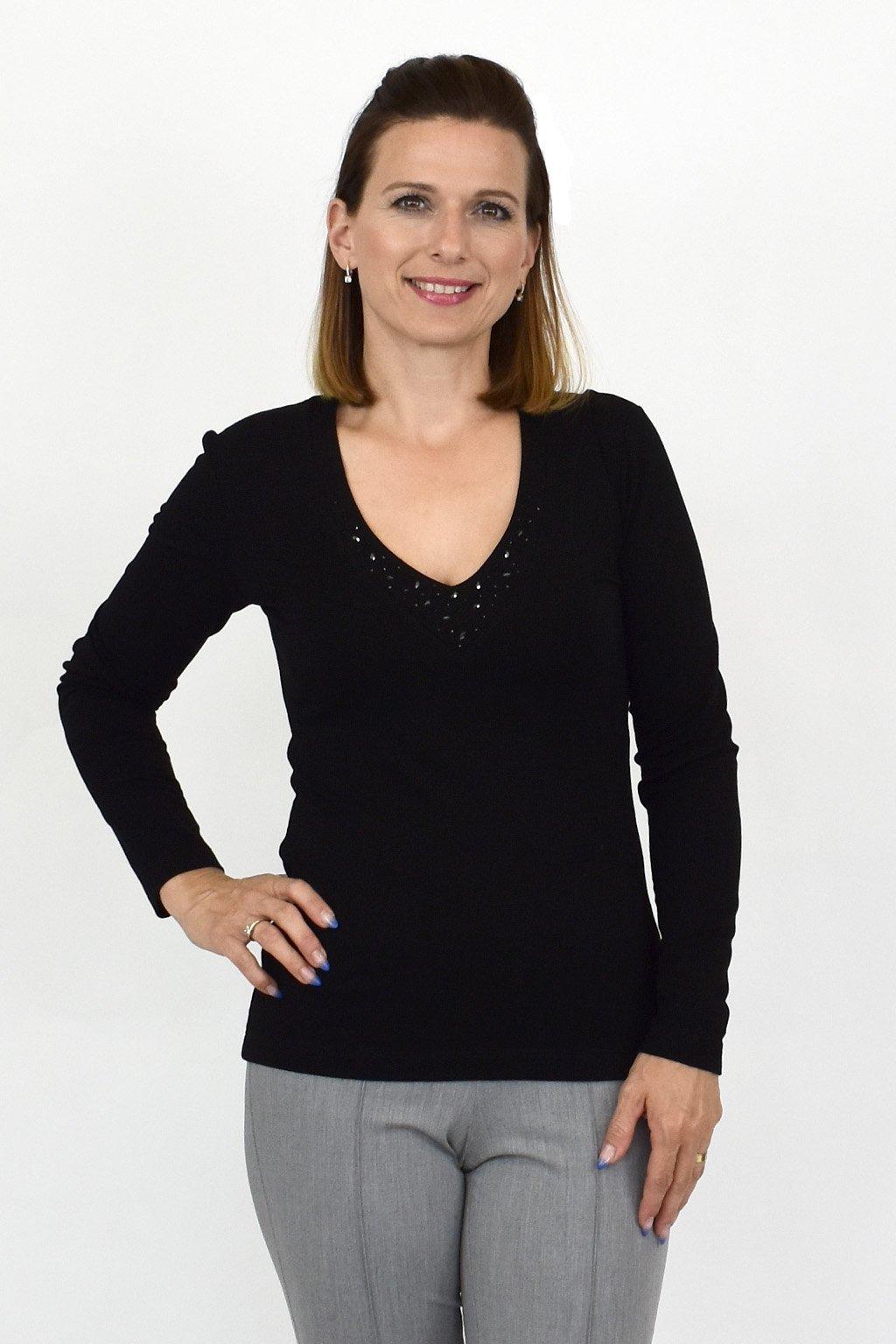dámske elegantné tričko