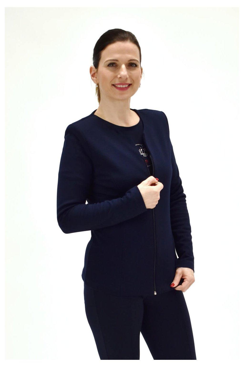 dámske modré sako