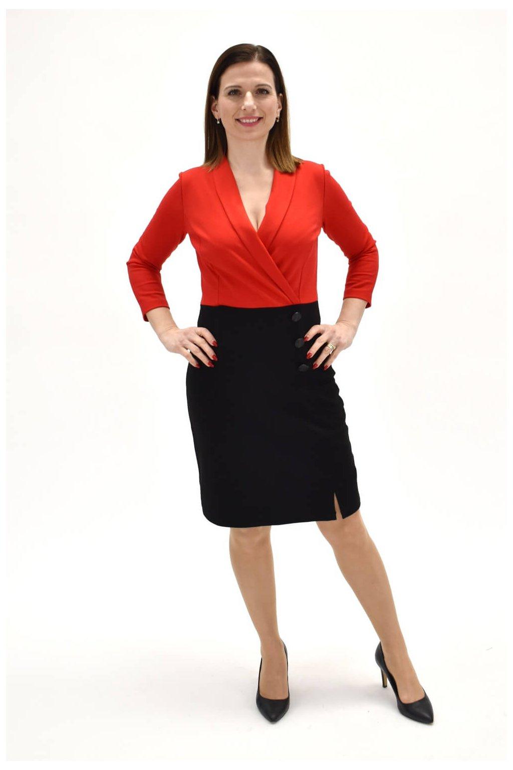 šaty s fazónkou ŠATY ŠALA 05 06