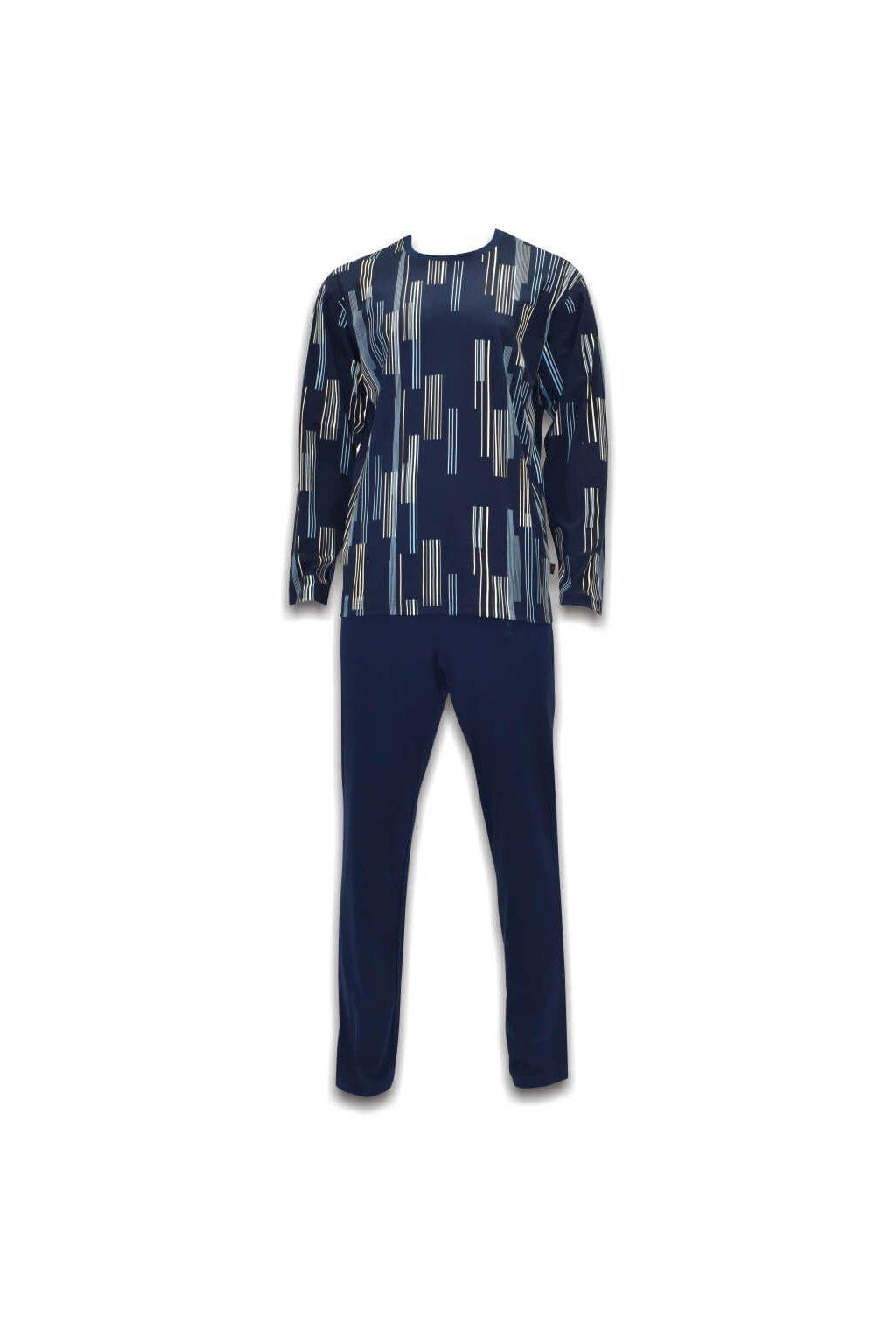 pánske modré pyžamo