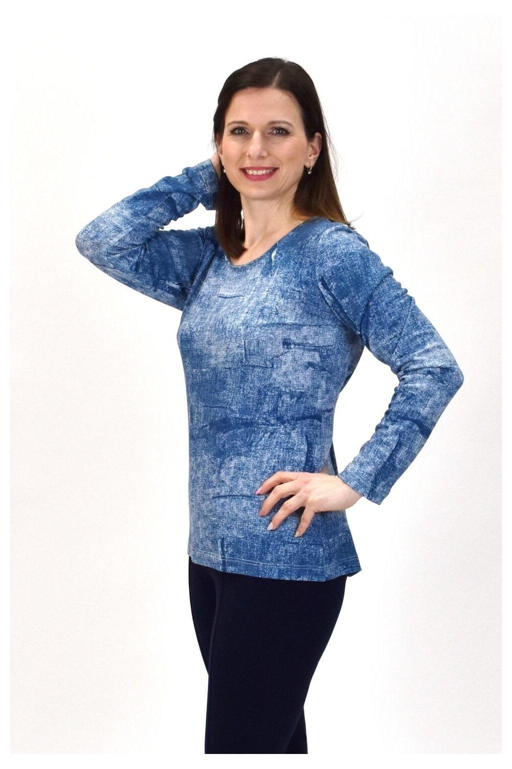pleteninové tričko