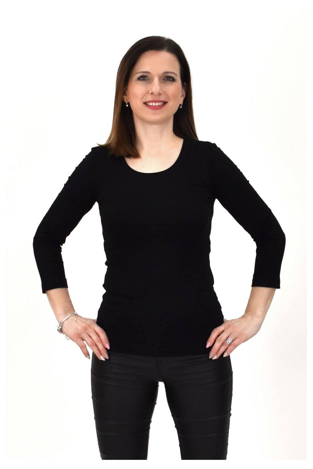 čierne tričko SINDA 3,4 05