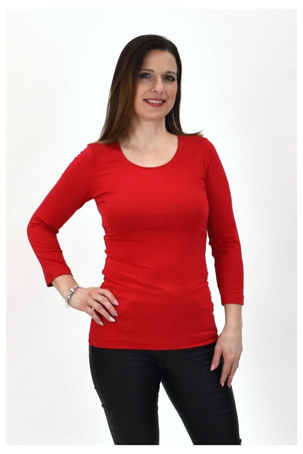 červené tričko SINDA 3,4 06