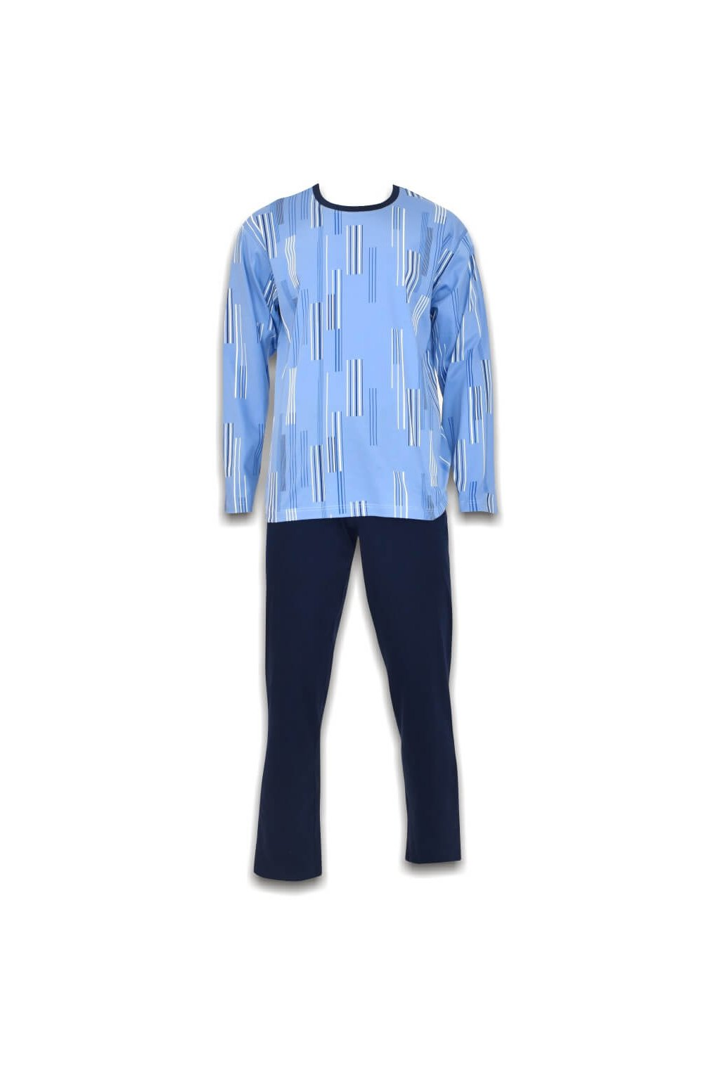 modré pyžamo RACING PYŽAMO G DR PÁSIK MOD