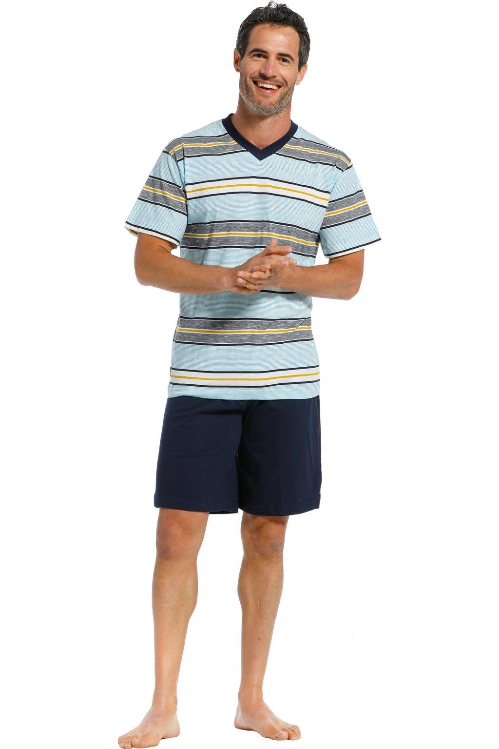 pánske pyžamo krátke