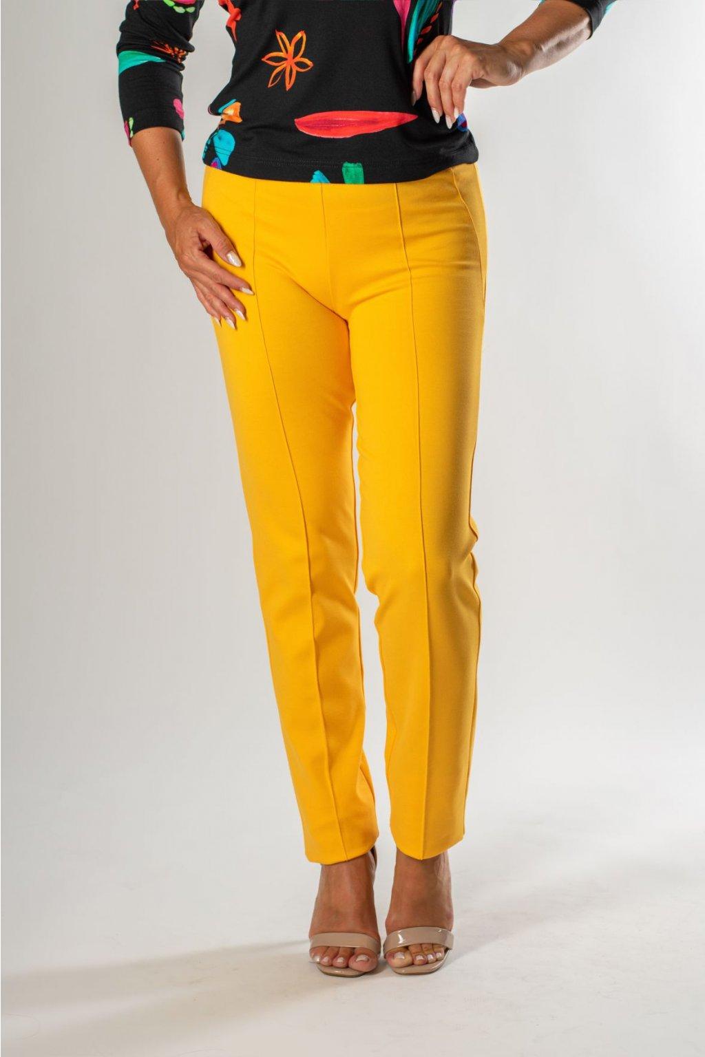 žlté nohavice hana nohavice 131 cr