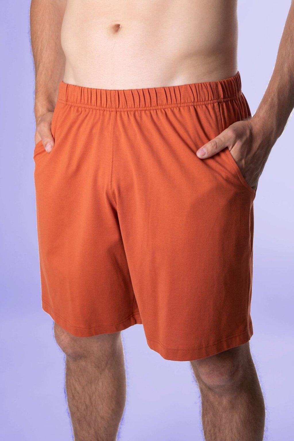 oranžové kraťasy