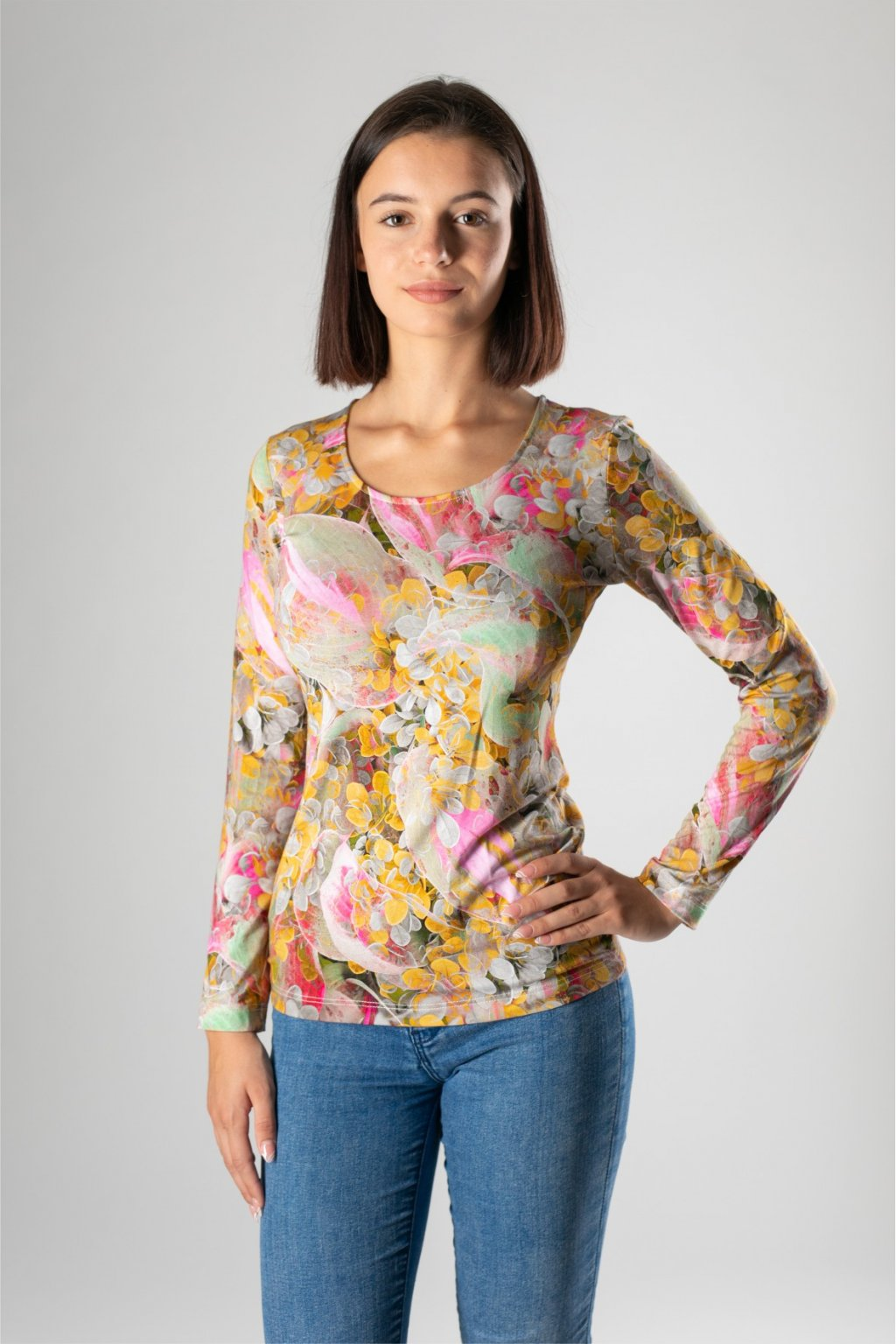 dámske tričko na jeseň