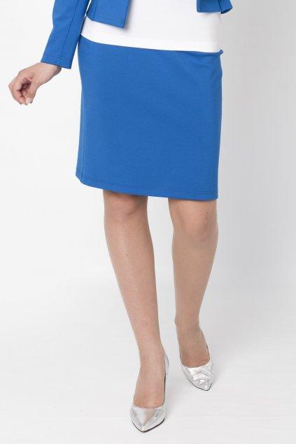 K´kráľovská modrá sukňa