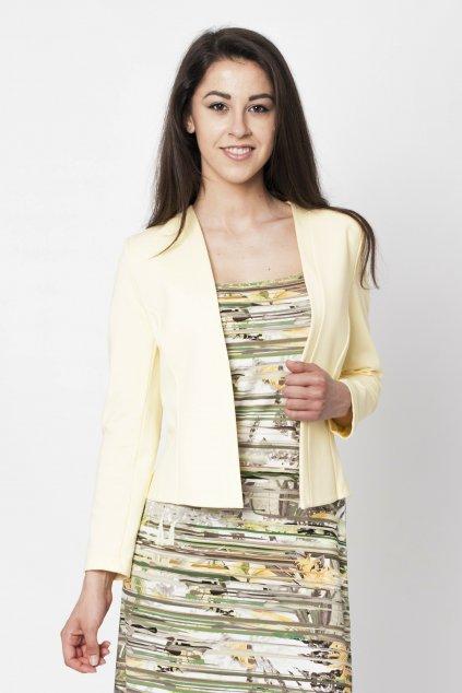 bledožlté sako