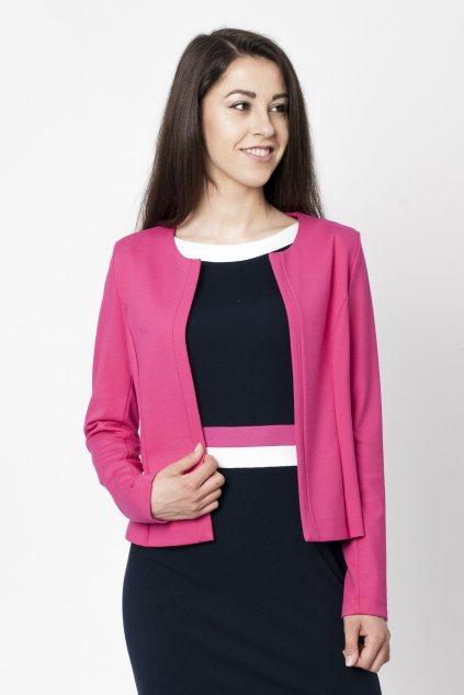 ružové sako