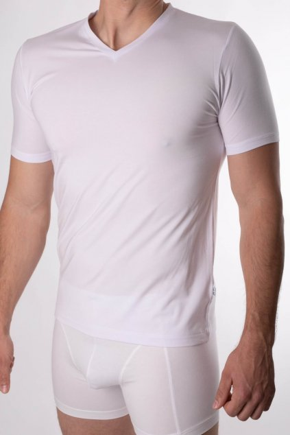pánske biele tričko