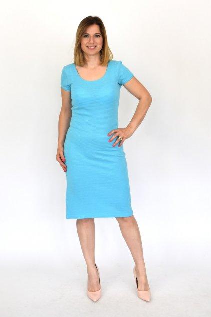 lurexové šaty