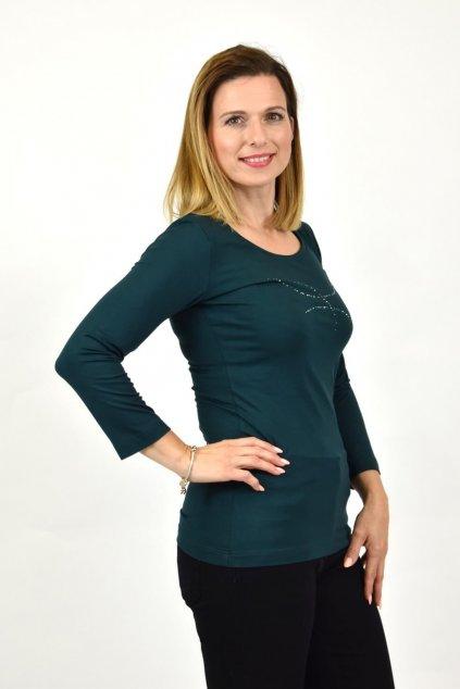 smaragdové tričko