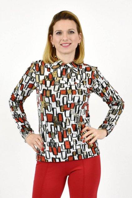 dámske tričko s roláčikom