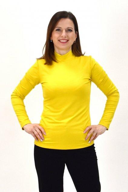žltý polorolák
