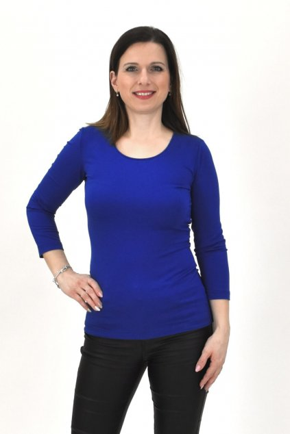 Kráľovská modrá tričko SINDA TRIČKO 3,4 16