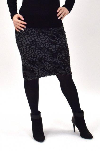 sukňa z hrubšieho materiálu