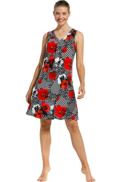 Dámske letné vzorované šaty